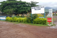 Freetown Polytechnic Campus Entrance